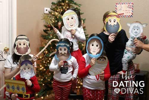 caretas de personajes del pesebre de navidad #christmas #decorations #crafts #diy #pesebre #nativity #recycle #upcycle #reciclar #reutilizar #navidad #decoracion #manualidades #kids #infants #printable #niños #infantil
