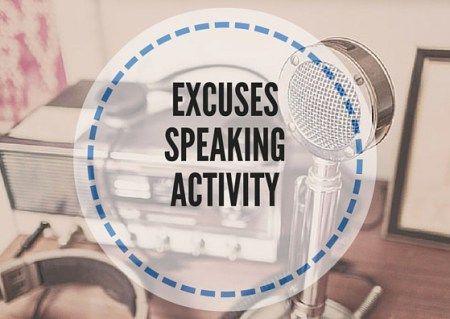 EXCUSES-SPEAKING-ACTIVITY