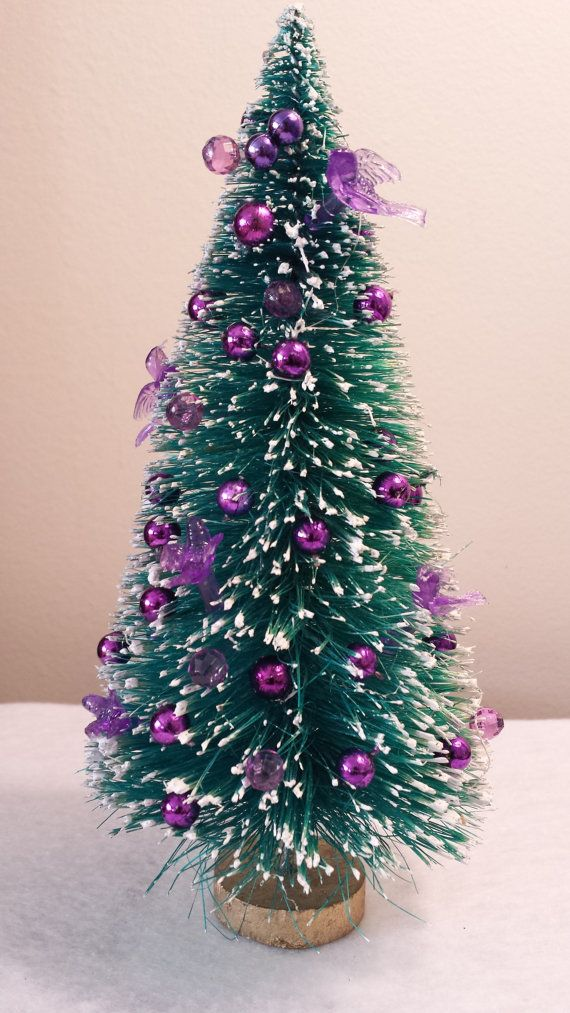 508 best holiday miniature diy trees images on pinterest for Miniature christmas trees for crafts