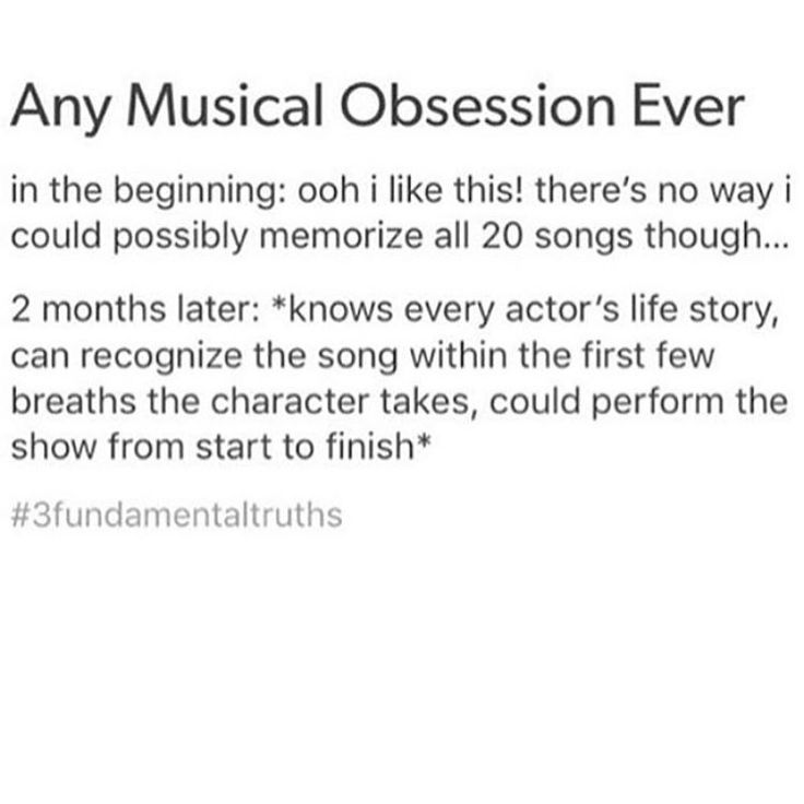 Good grief. Me before 3/2/2017: Okay so I know three songs from Matilda...? Me not long after 3/2/2017: I know of all the movies Oona Laurence was in before and after Matilda. I know that Ripley Sobo and Eliza Holland Madore were in Once at the same time before Matilda. I know that Abbie Vena recently eclipsed Lara Wollington as longest-running Matilda ever. SEND HELP.