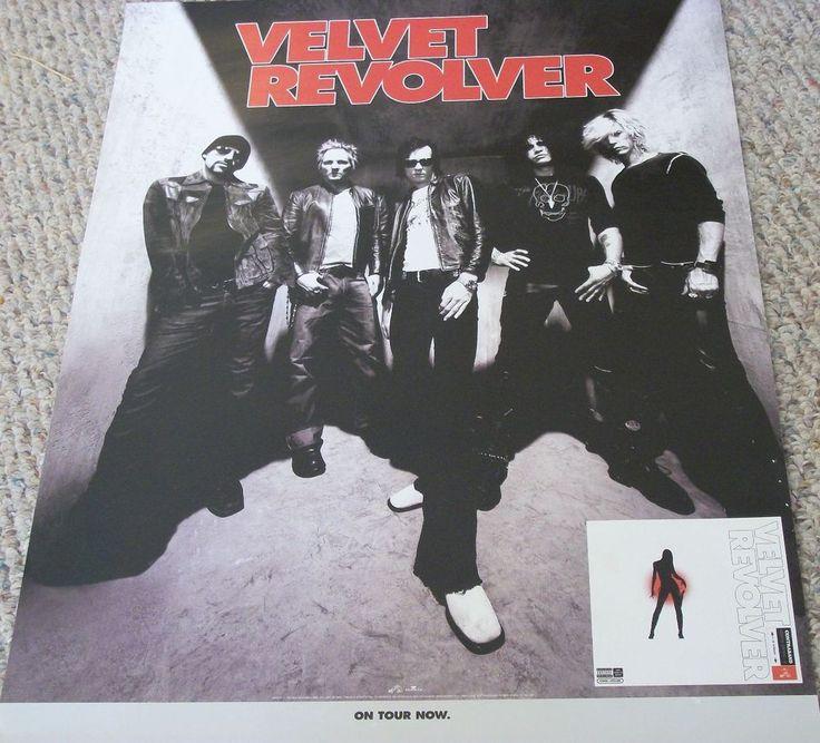 "Velvet Revolver / Contraband / 2004 RCA Records Promo Poster / 18"" X 24"" #ScottWeiland #Slash"