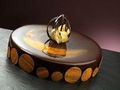 Dolce Tramonto - Panna cotta alla liquirizia, Mousse al cioccolato amaro, glassa alla liquerizia