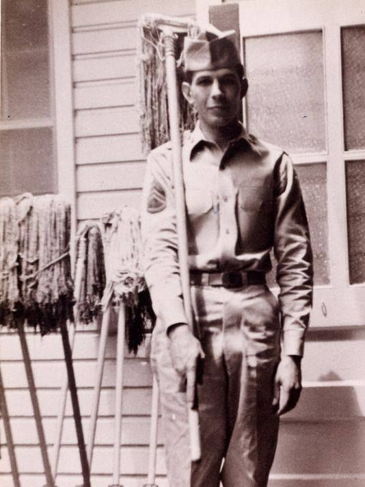 Leonard Nimoy in the U.S. Army Reserves 1953 - 1955