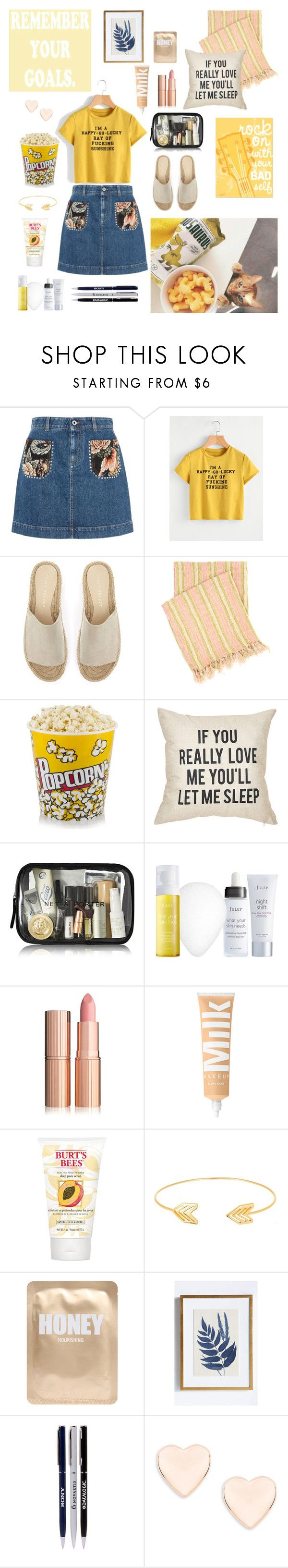 """Untitled #18"" by zarmon ❤ liked on Polyvore featuring beauty, STELLA McCARTNEY, Mint Velvet, Pine Cone Hill, Julep, John Lewis, Lord & Taylor, Lapcos, Anthropologie and Ted Baker"