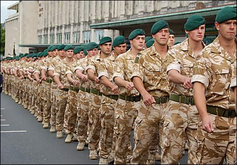 Royal Marine Commando.