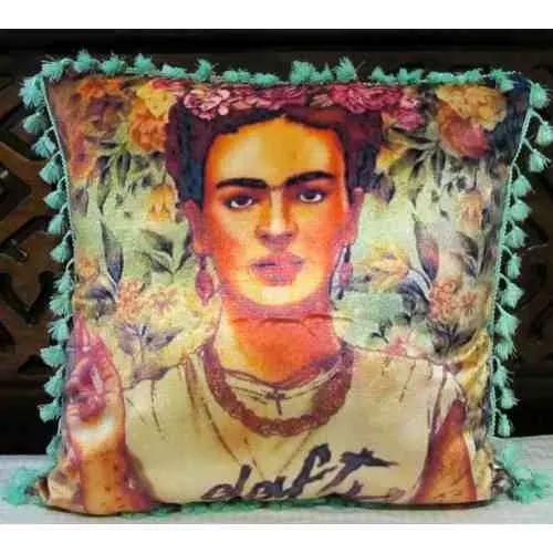 Cojin Decorativo Tayrona Store Frida 01 Con Bolero - $ 49.900