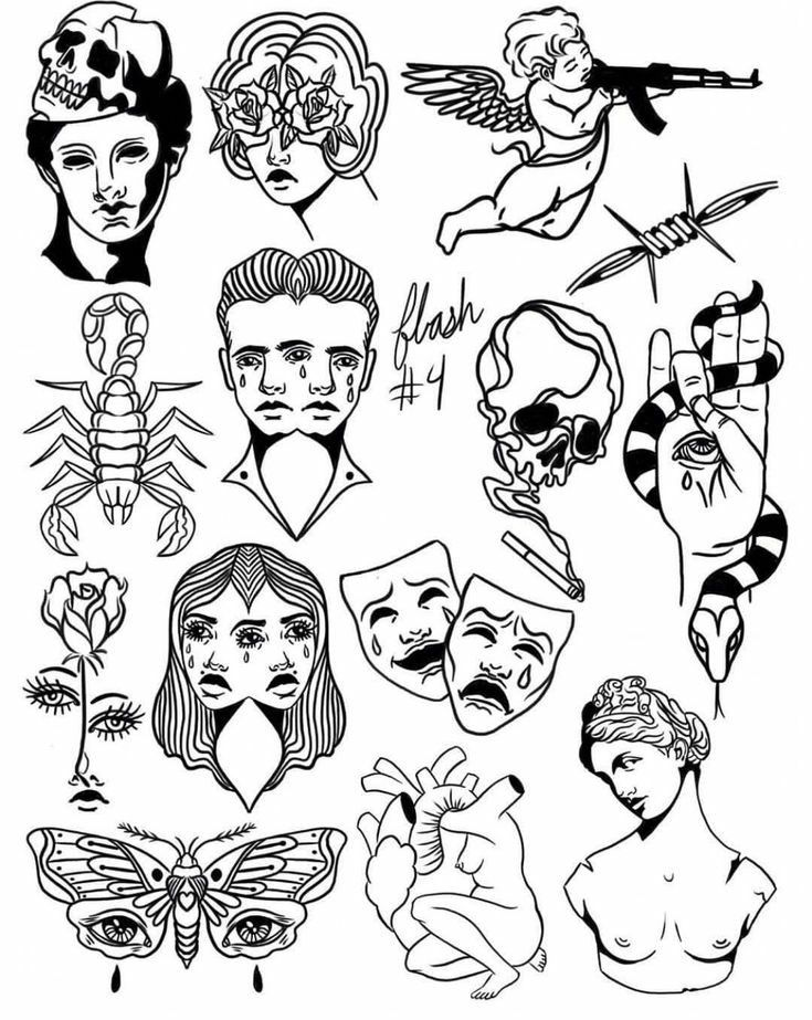 Top Small Tattoo Collection For Women Doodle Tattoo Tattoo Flash Art Tattoo Drawings