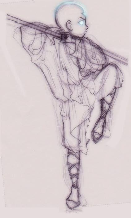 avatar le dernier maitre de l air __ Aang