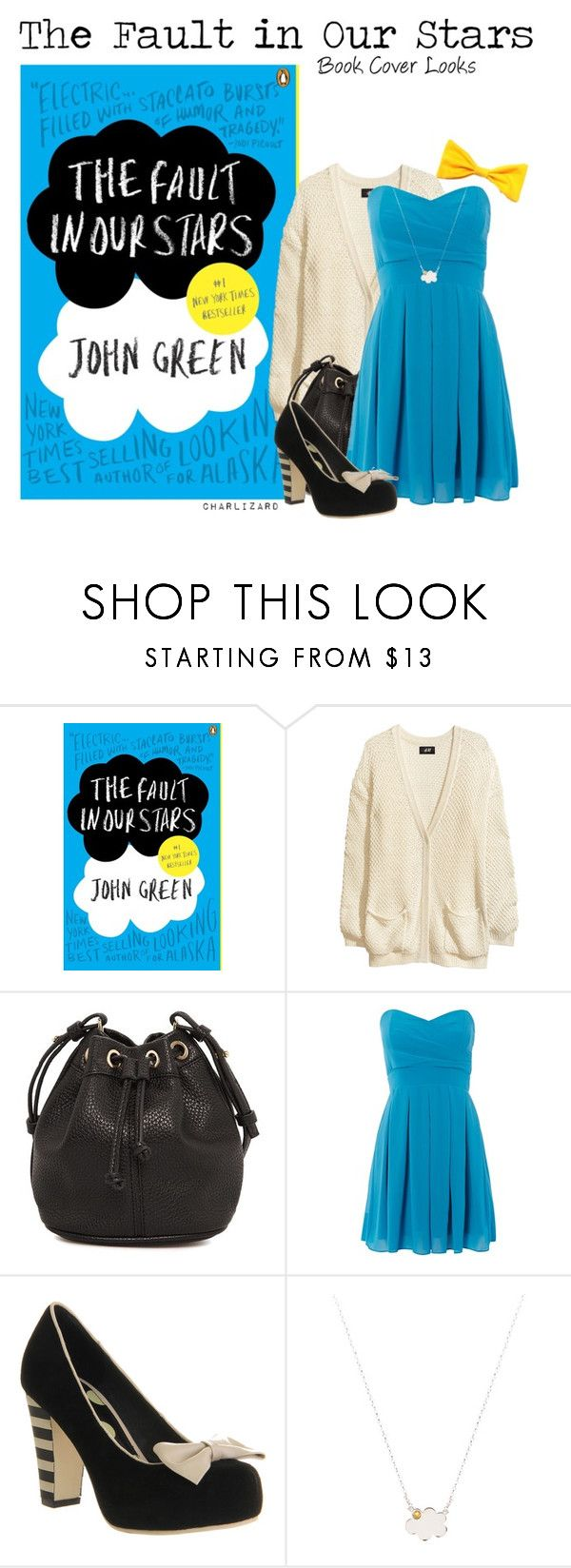 """The Fault in Our Stars"" by charlizard ❤ liked on Polyvore featuring H&M, MANGO, TFNC, Lola Ramona, Karen Walker, books, thefaultinourstars and tfios"
