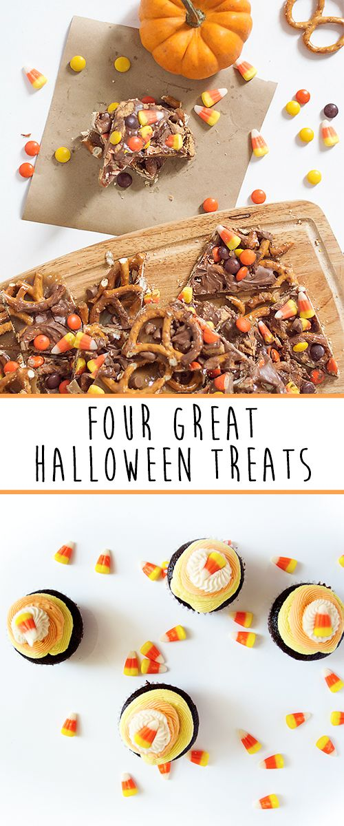 Four great, easy Halloween recipes for all of your ghouls and boos!