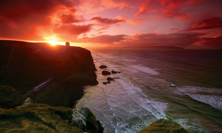 Mussenden Temple, County Londonderry, County Londonderry - Attractions