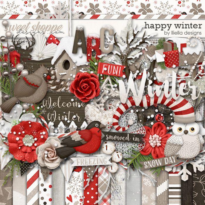 Happy Winter by lliella designs