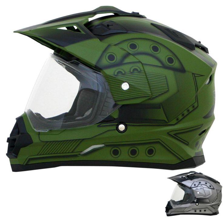 AFX FX-39DS Hero Motorcycle Motocross MX Street Off Road Dual Sport Helmet
