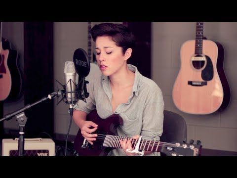 Magic - Coldplay (Cover by Kina Grannis)  Just heard the Coldplay version for the first time on the radio. Then, I saw this. Wonder if it's weird that Kina and I have the same hairstyle.