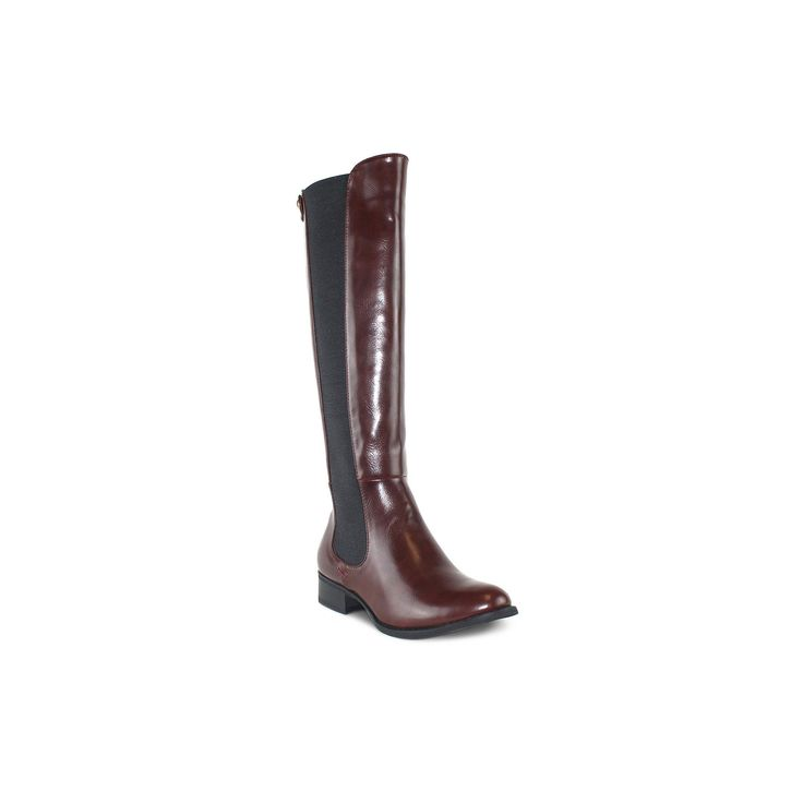 Olivia Miller Waverly Women's Riding Boots, Teens, Size: 8.5, Red