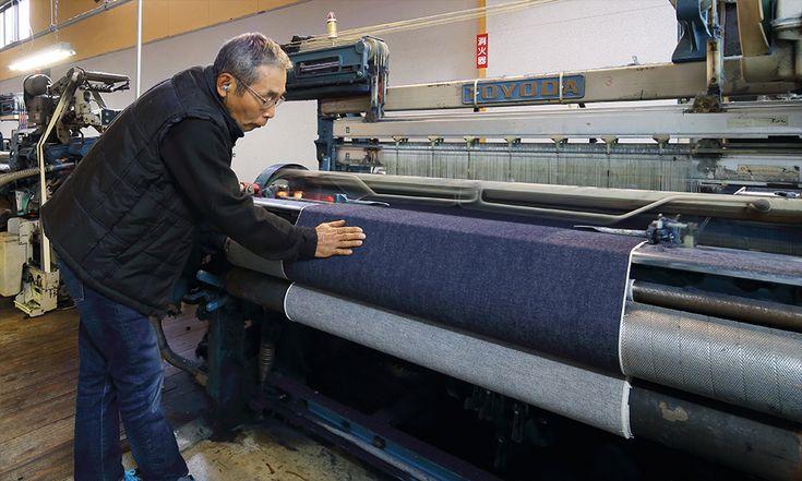 ジャパンブルージーンズと旧式織機