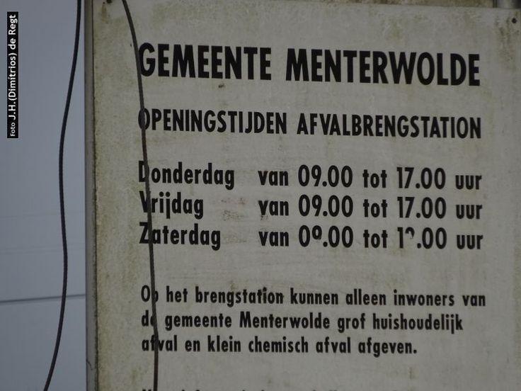 Muntendam - Oosterweg → afvalbrengstation