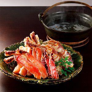 Winter Japanse Food Taraba Crab かに鍋や焼きがになどで豪快にどうぞ。【生たらばがに】
