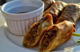 Ginger beef eggrolls | Food | Pinterest | Ginger Beef, Beef and Html
