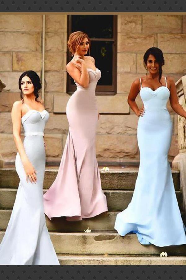 Simple Bridesmaid Dress 309d733a2517