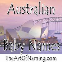 The Art of Naming: World-Wide Wednesday: Australian Names