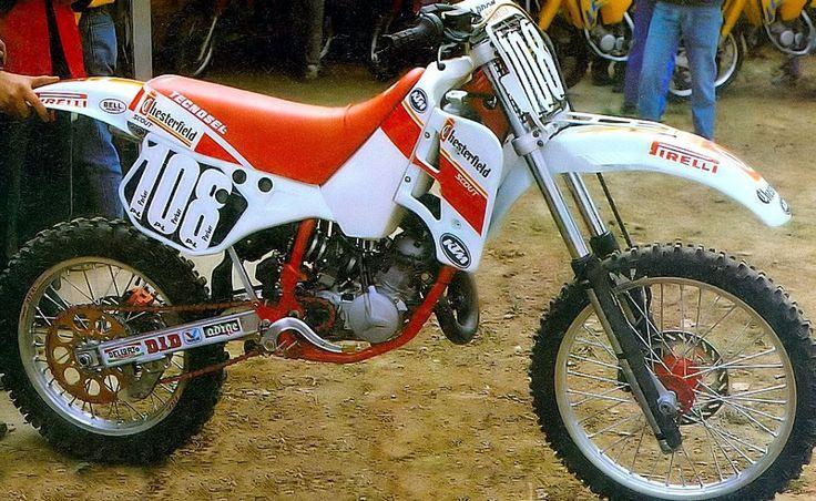 Trampas Parker KTM 125cc. semi-works 1989