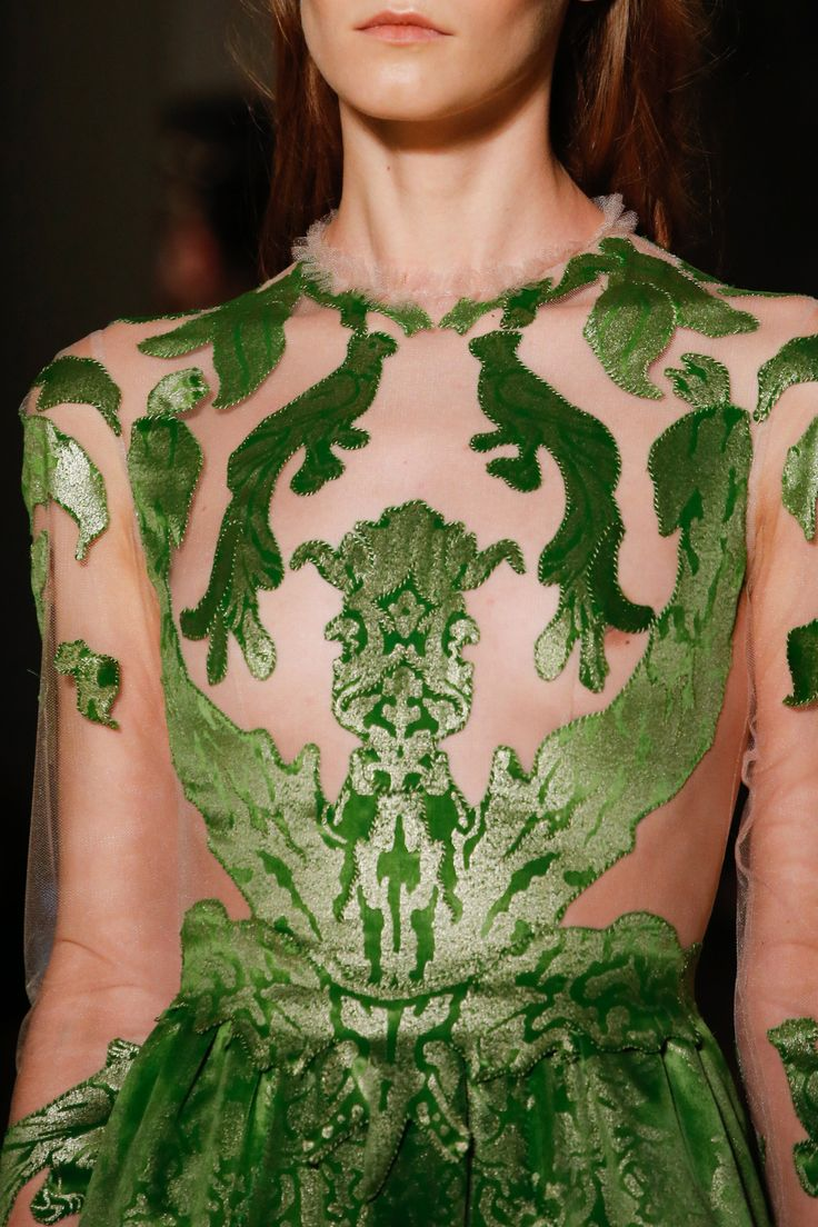 See the complete Valentino Spring 2016 Couture collection. I think although this is high fashion and you can tell this is nature inspired clearly it does link in with LUULA as I think this is something you could also wear to a party/ball.