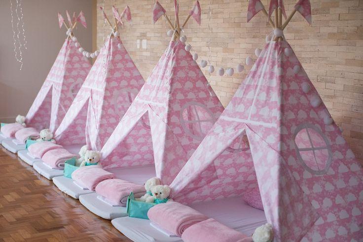 Festa_do_pijama_para_meninas_Rosa_Verde_Menta_barraquinhas_01