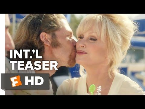 Absolutely Fabulous: The Movie Official International Teaser Trailer #1 (2016) - Comedy HD - YouTube