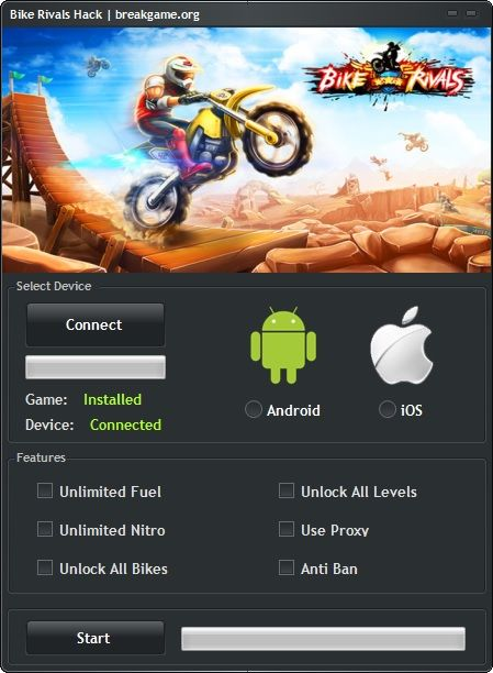 Bike Rivals Hack Tool Unlimited Fuel Cheat (Android/iOS)   http://breakgame.org/bike-rivals-hack-tool-unlimited-fuel-cheat-androidios/