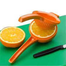 Colori trasmesso a caso!!!  Nuovo mano manuale lemon squeezer juicer arancione spremiagrumi succo di frutta lime cucina strumenti(China (Mainland))