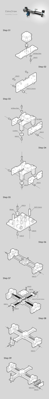 EleksMaker Desktop EleksDraw USB DIY XY Plotter Pen Drawing - Tomtop.com