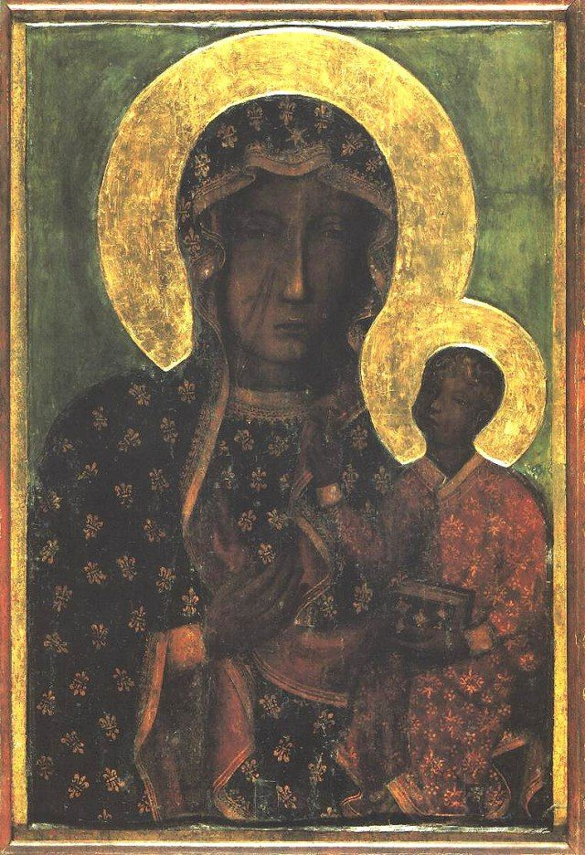 The Black Madonna of Czestochowska, Poland