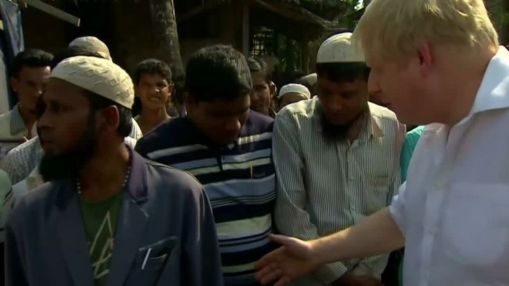 "ICYMI: UK's Boris Johnson on ""horror"" of Rohingya crisis"