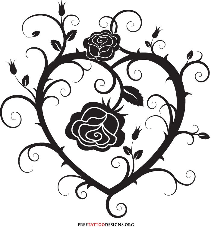 Best 25+ Tribal Heart Tattoos Ideas On Pinterest