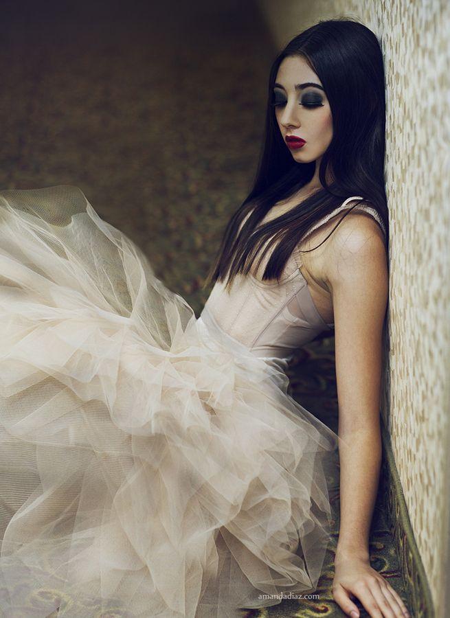 Bella by Amanda Diaz, via 500px, gothic white.