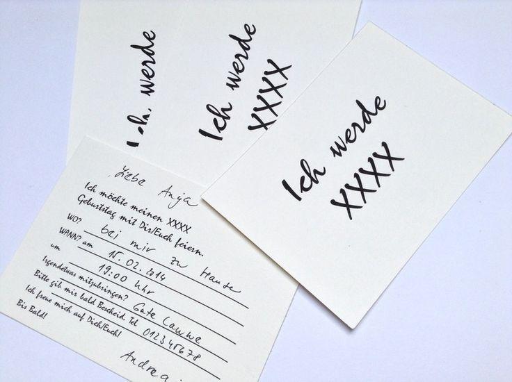 Einladungskarte Zum Geburtstag   Ich Werde Eine Tolle Einladungskarte Zum  Geburtstag. Die Karte Kann Auch Für Den Alter Von Angepasste Werden.