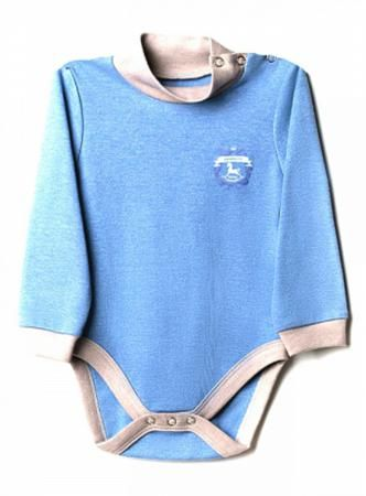 Goldy синее  — 325р. ------------------------------------------- Боди Goldy синее - удобная одежда на каждый день. Из натурального хлопка, с застежками на кнопки, для мальчиков  от 3 месяцев до 2 лет.