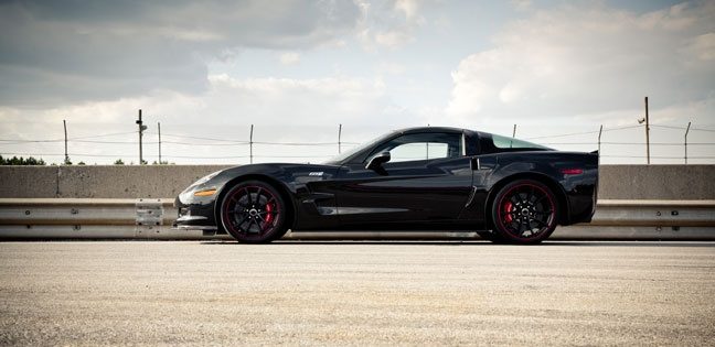 2012 Chevy Corvette Z06 Centennial Special Edition Sports car in Carbon Flash Metallic