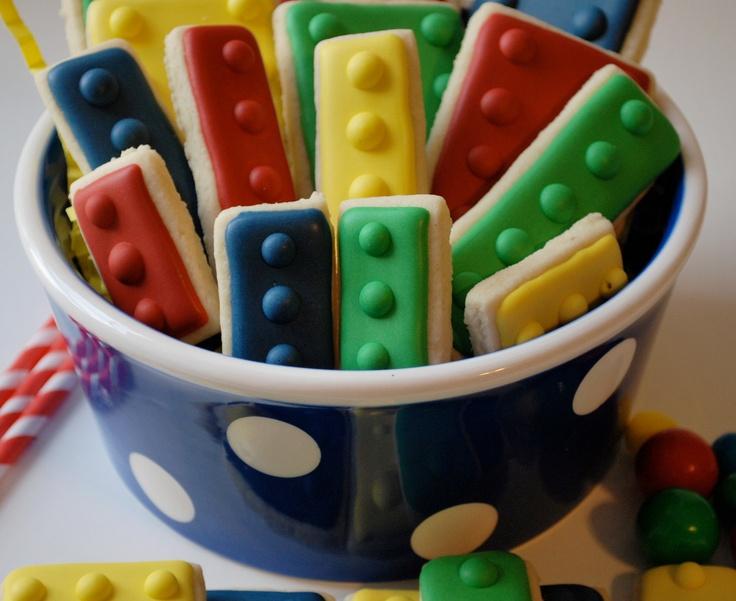 Lego Decorated Sugar Cookies 12 by goosiegirl10 on Etsy