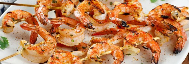 Great on seafood – and everything else – OLD BAY Seasoning brings unmistakable flavor to shrimp in this grilled dish. Marinate shrimp in OLD BAY, oil, lime juice and cilantro and thread onto skewers. Garnish with lime wedges and an extra sprinkle of OLD BAY.