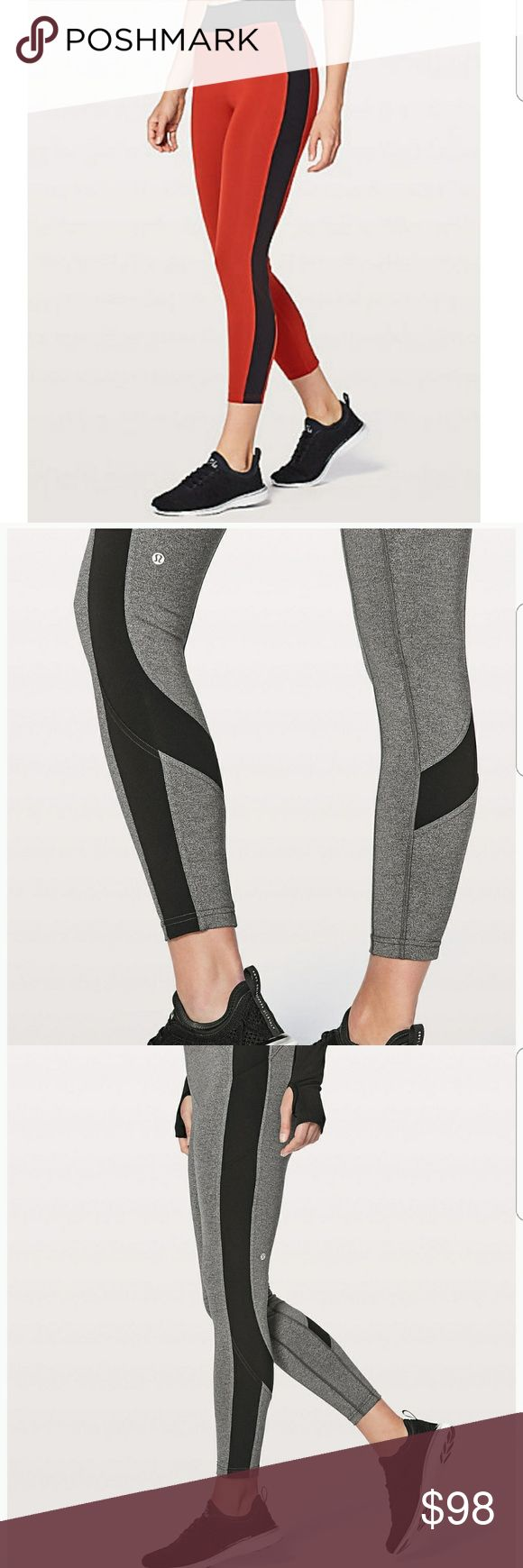 SALE SALE TODAY ONLY!  Lululemon Crops This are red color, online only sold out!  7/8 not too short not too long! Brand new with tags! Feel free to make offers! lululemon athletica Pants Skinny