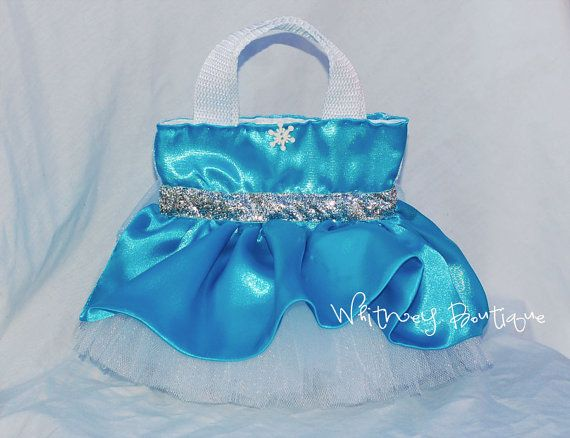 Elsa Princess Tote Bag by WhitneyBoutique on Etsy, $8.95