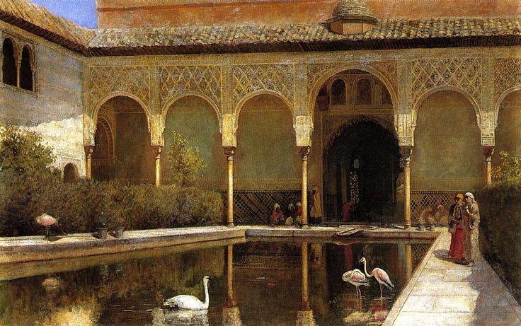 orientalist paintings | was an american artist specializing in orientalist painting he was one ...