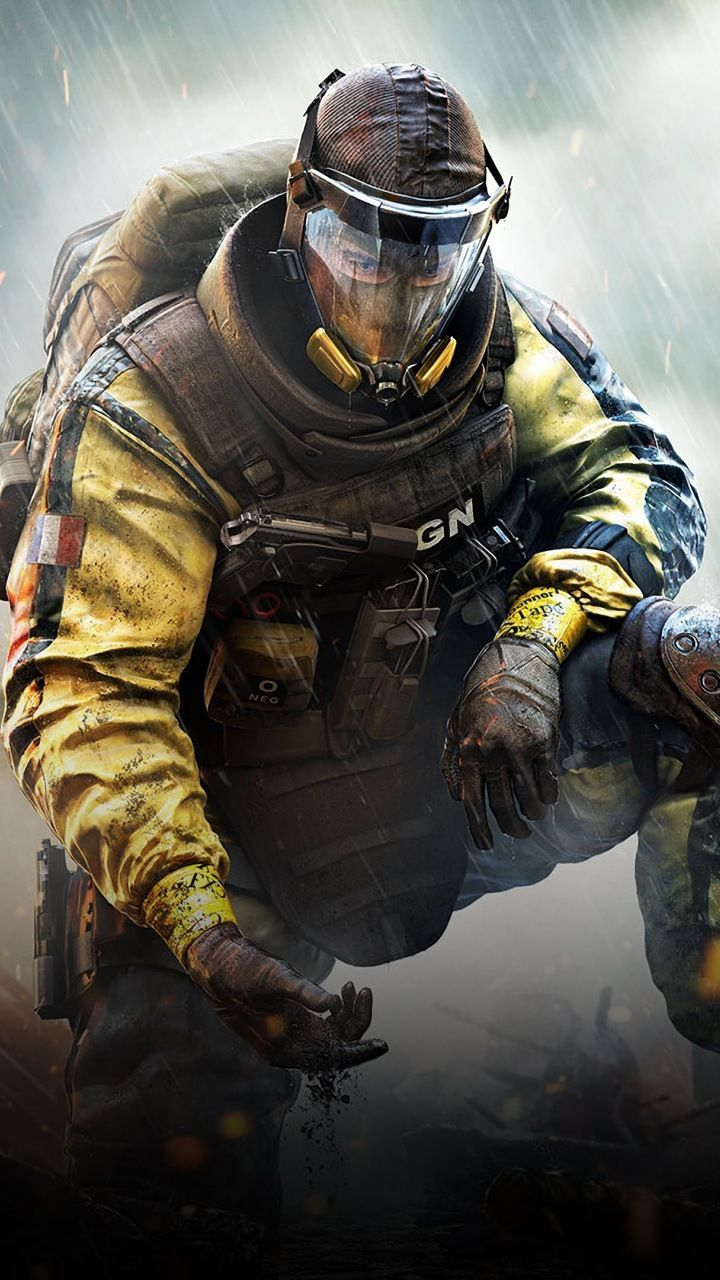 Video Game Gas Mask Tom Clancy S Rainbow Six Siege Soldier