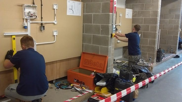 SkillELECTRIC competition at Hartlepool College