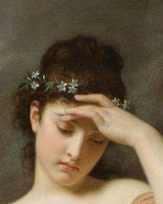 Tragedy — Details of Women wearing flower crowns