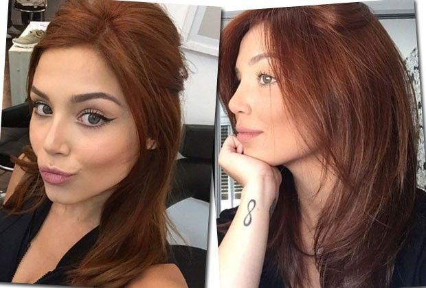 De acordo com a blogueira, a nova cor não a limitou em nada na hora de se maquiar  (Foto: Reprodução/Instagram )