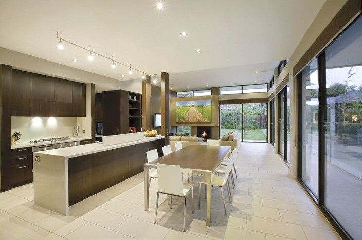 Kitchen, Dining, Open plan, modern living,   Constructed by Classic Projects