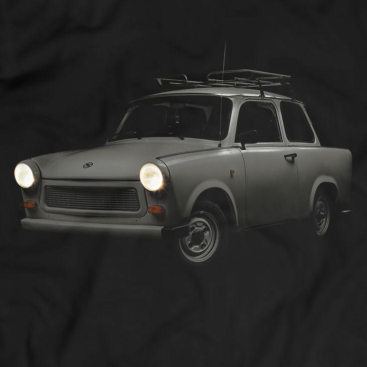 Trabant 601 S Factory Sachsenring Trabi 600 Car T-Shirt 100% Baumwolle